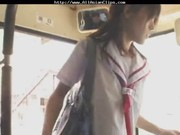 Japanese babe  on bus asian cumshots asia …