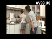 Sexy big tit japanese housewife fucked