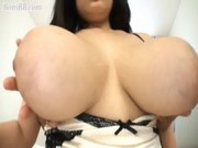 Japanese huge tits girl