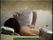 Hidden cam massage room