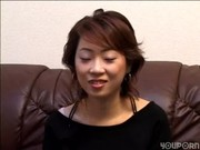 Vibrator used on shy asian before she suc …